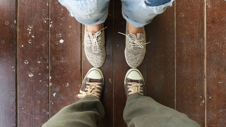 two people toe to toe no boundaries
