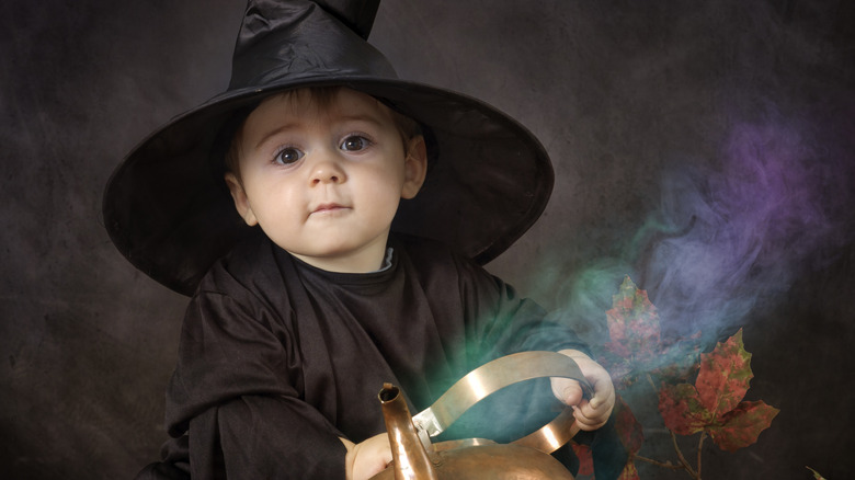 witchy baby Hecate