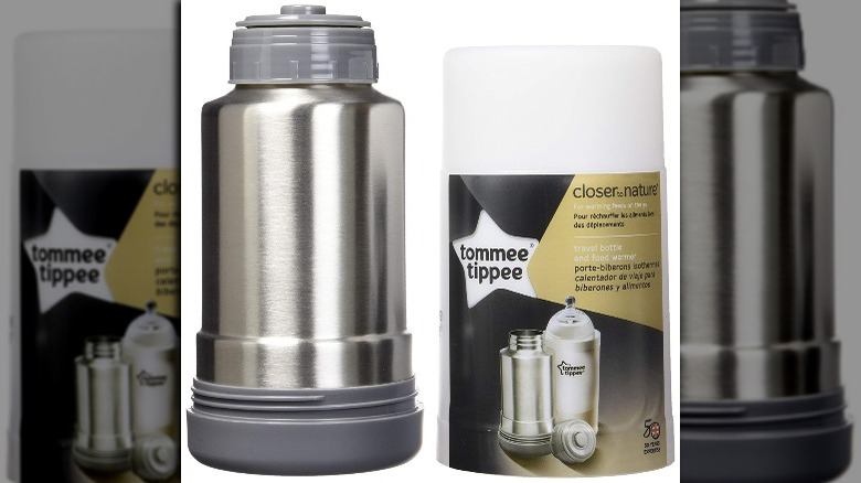Bouteille Tommee Tippee et chauffe-plats