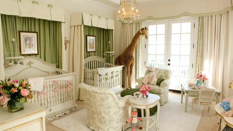 Mariah Carey and Nick Cannon's nursery for their twins