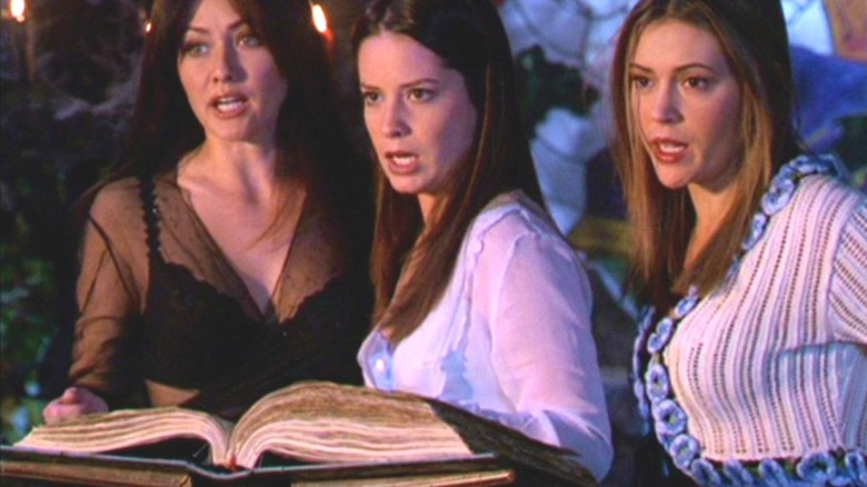 Charmed sisters Book of Shadows