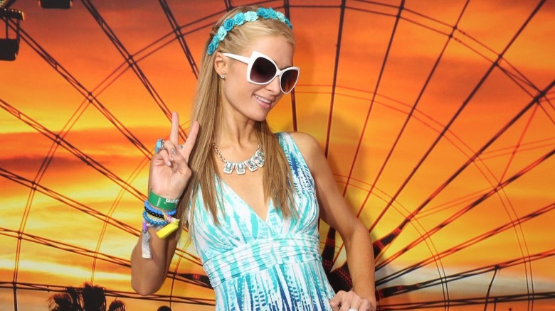Paris Hilton Coachella