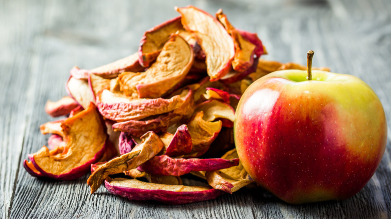 Apples and apple chips