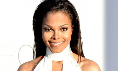 US singer Janet Jackson poses as she arr