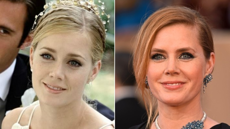 Amy Adams before and after natural hair