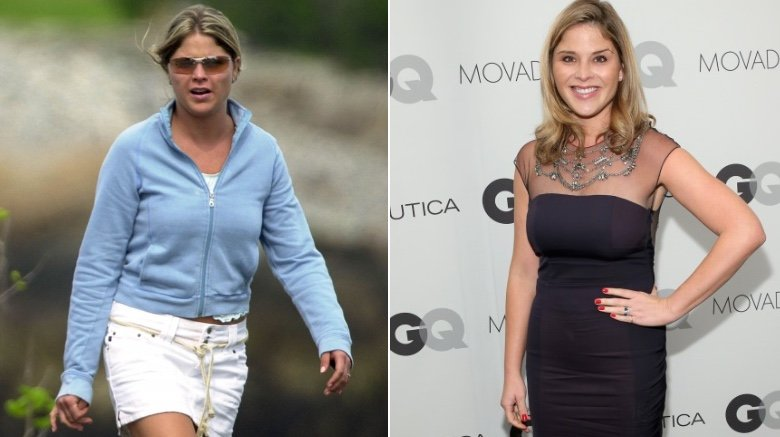 Jenna Bush Hager then and now