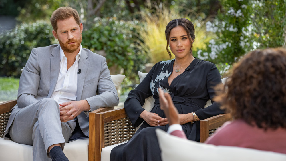 The Jaw-Dropping Amount Of Money CBS Paid For The Meghan And Harry Interview
