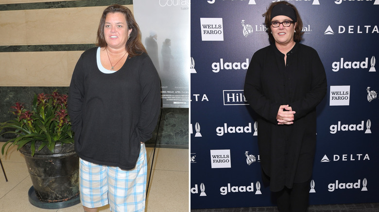 Rose O'Donnell weight loss