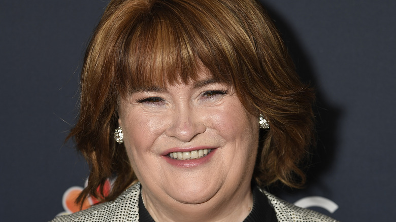 Susan Boyle at the America's Got Talent: The Champions premier