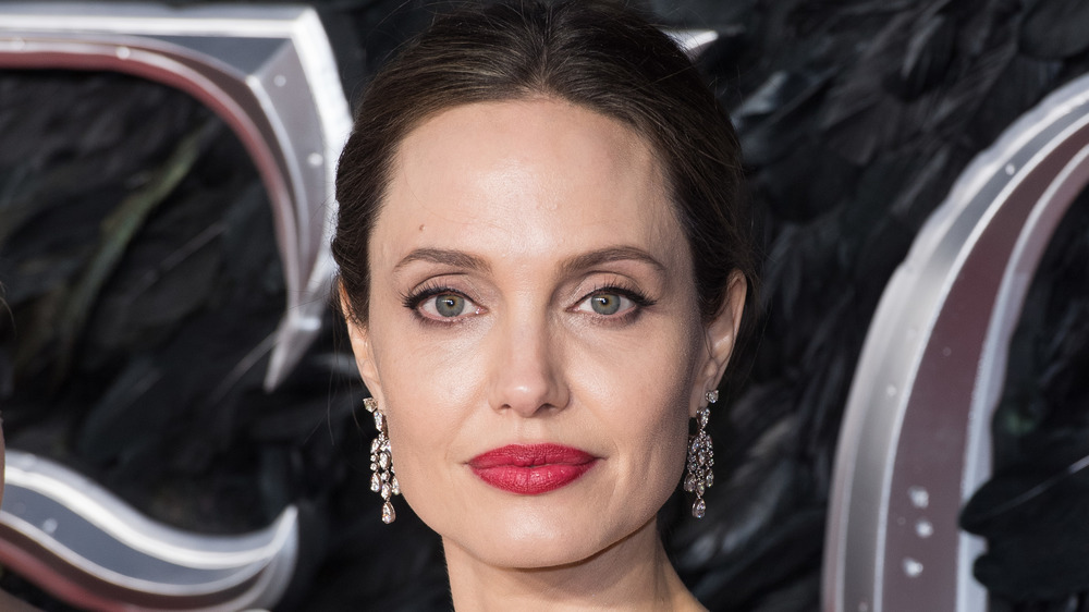 Angelina Jolie at a premier in 2019