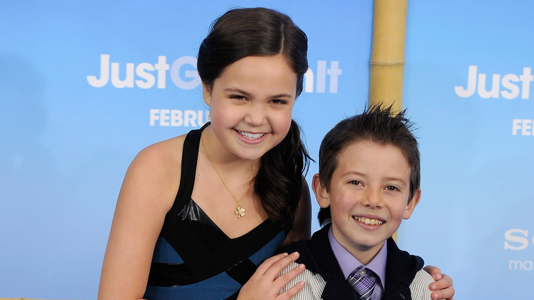 Bailee Madison and Griffin Gluck