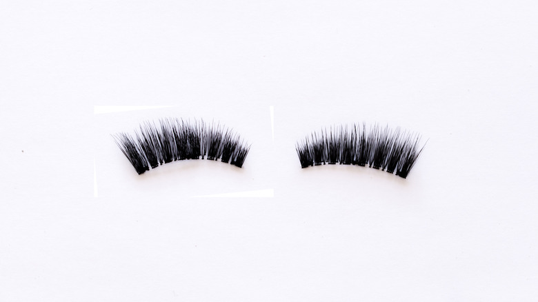 pair of magnetic lashes