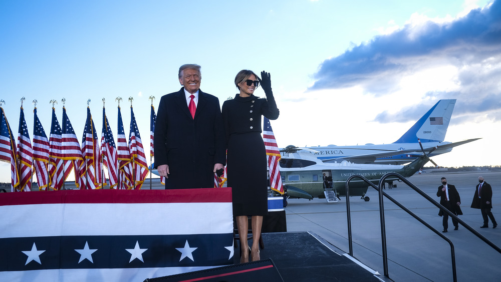 The Truth About Melania Trump's Final Fashion Choice As First Lady