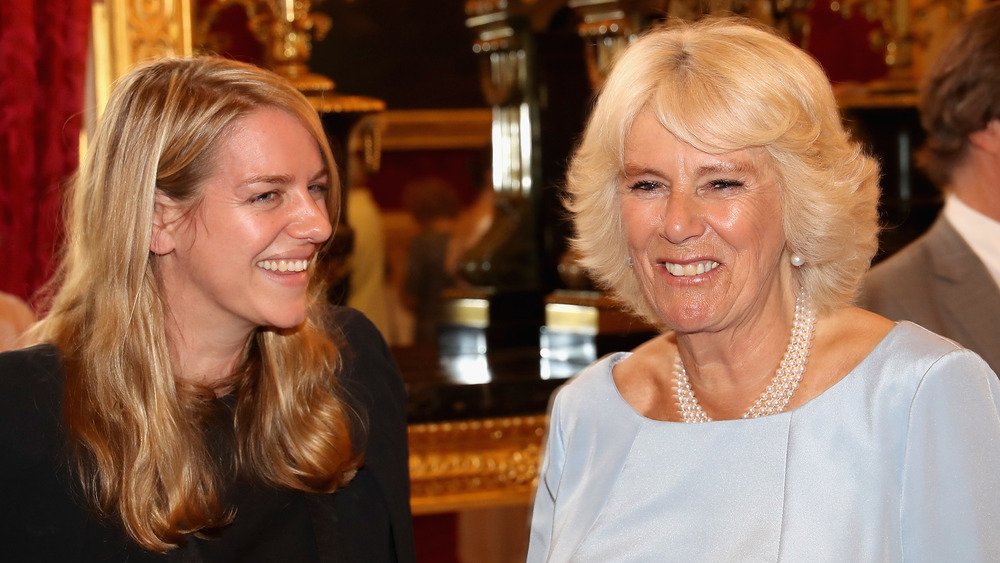 Laura Lopes and Camilla Parker Bowles at an event in 2016