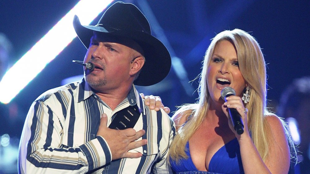 Garth Brooks and Trisha Yearwood at the Academy of Country Music Awards in 2018