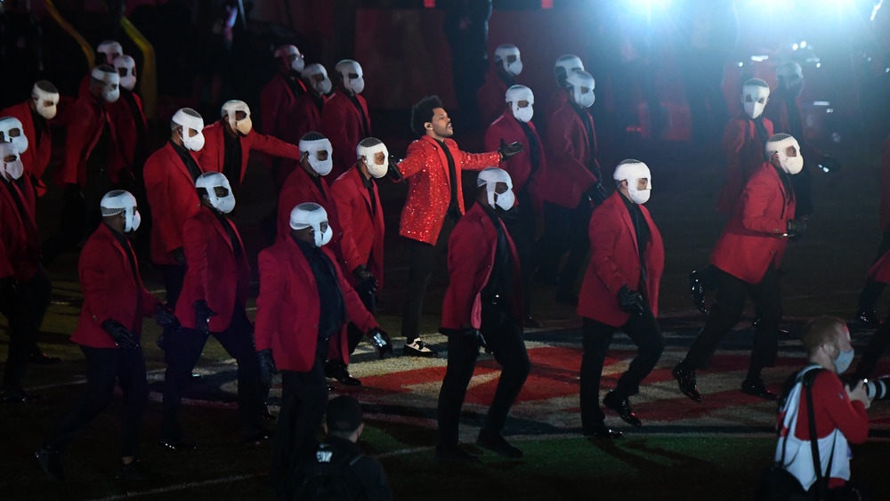 The Weeknd's Super Bowl Backup Dancers Are Raising Eyebrows