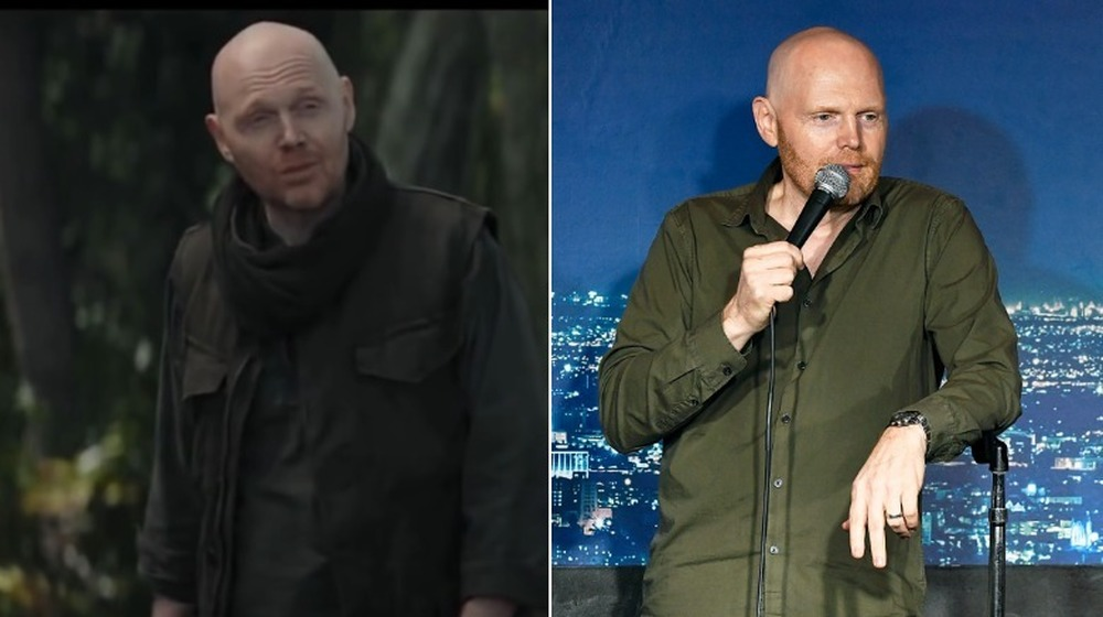 Bill Burr, split image