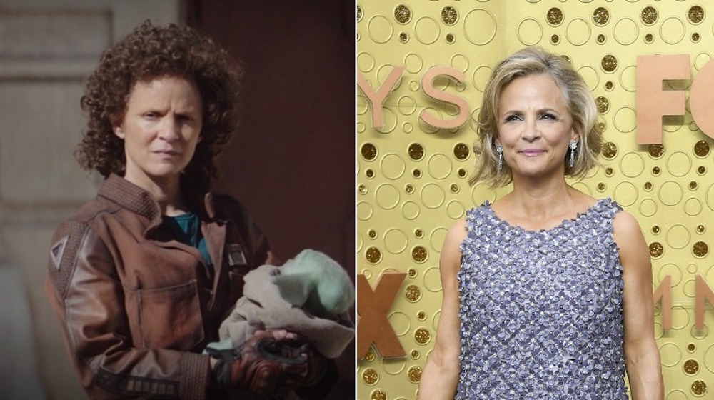 Amy Sedaris, split image
