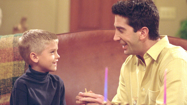 Ben and Ross in Friends