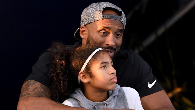 Vanessa Bryant gives heartbreaking tribute to Kobe and Gianna at public memorial