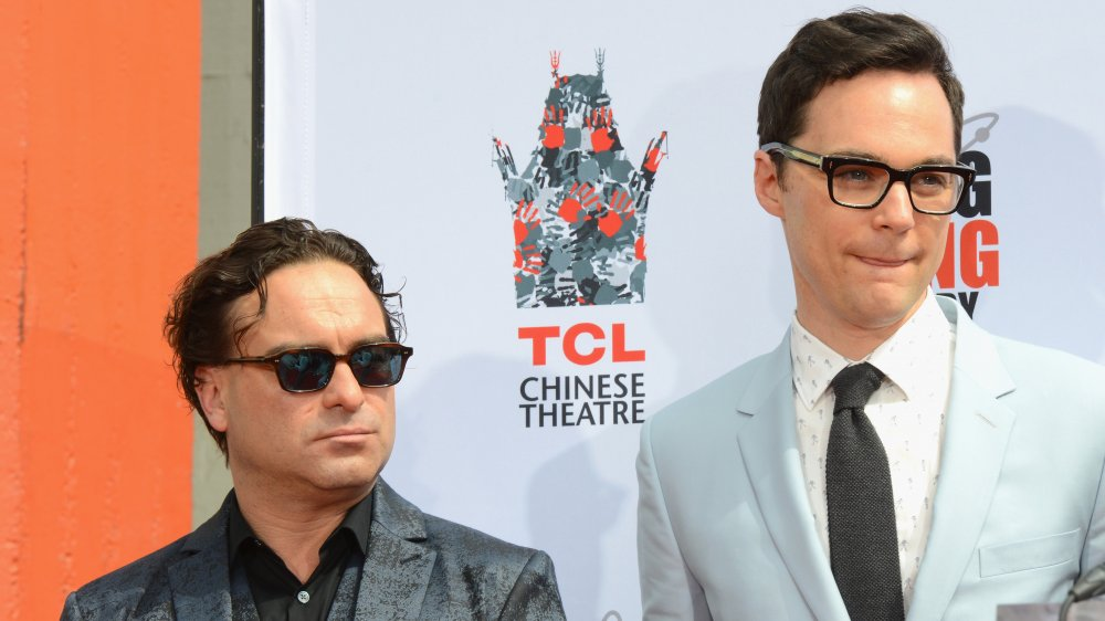 Jim Parsons and Johnny Galecki from The Big Bang Theory