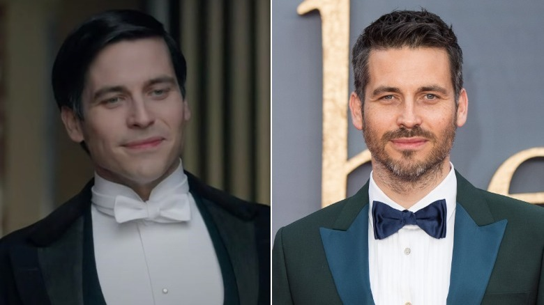 Rob James-Collier, split image