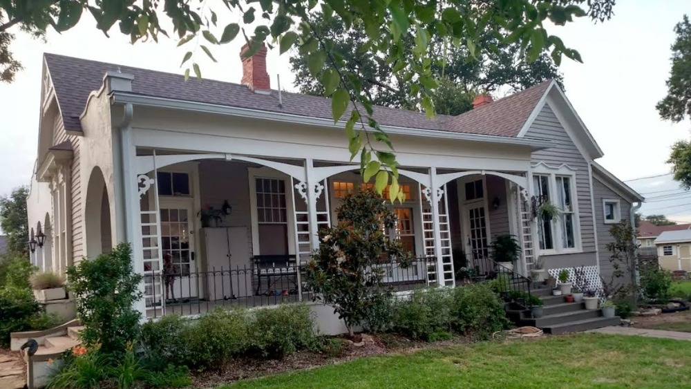 A renovated Fixer Upper house, exterior