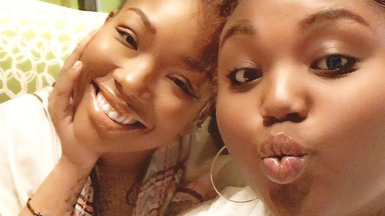 Brandy and her daughter Sy'rai