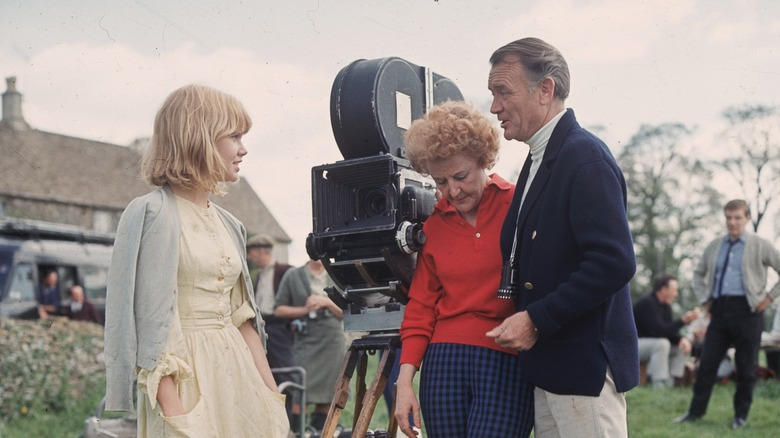 Image result for hayley mills with father and mother