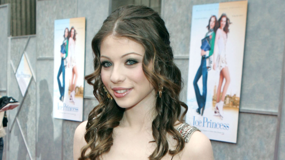 Michelle Trachtenberg at the Ice Princess premiere